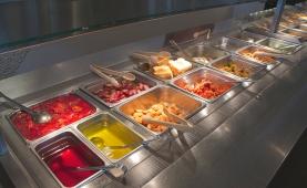 Dinner Buffet Table