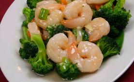 #19 Garlic Shrimp with Broccoli